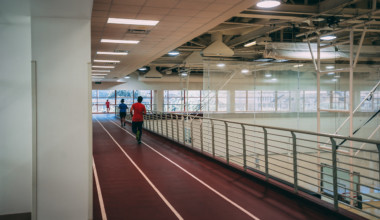 Gregory Gym Indoor Track
