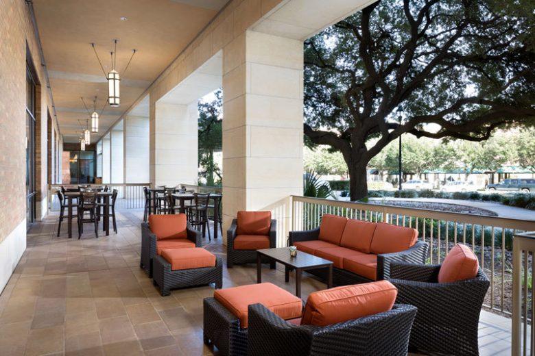 Carillon Patio Austin Restaurant