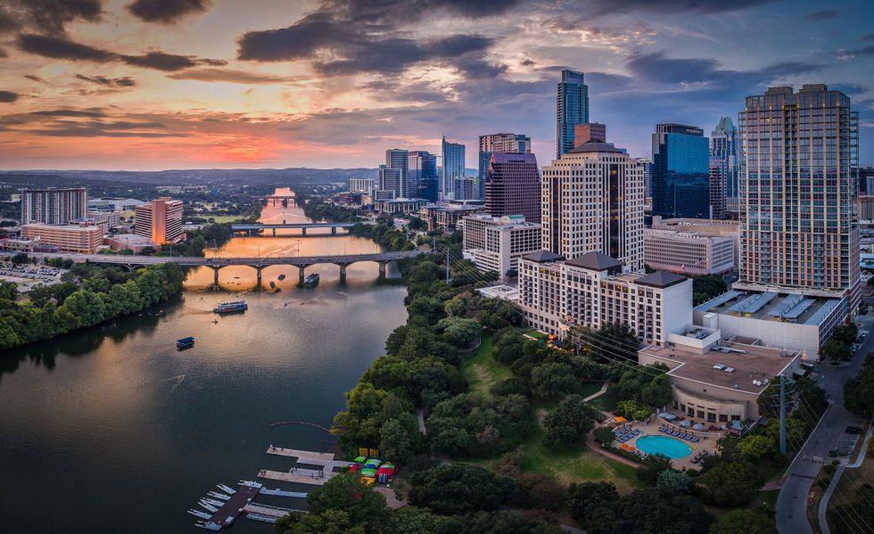 Downtown Austin Lady Bird Lake