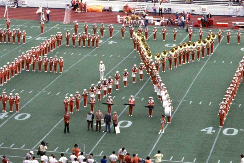 Longhorn Band Texas