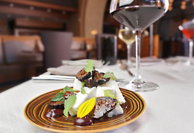 Figs And Feta With Wine Carillon August Food 30
