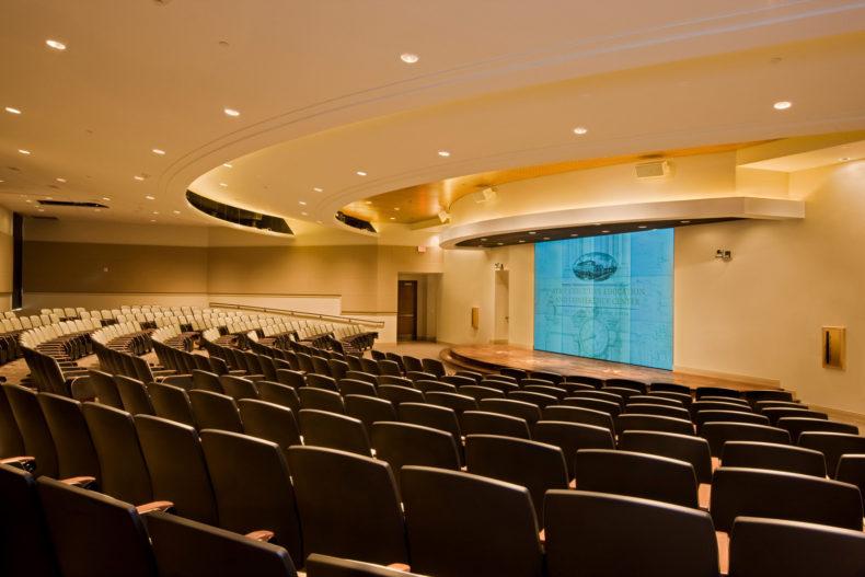 Ut Conf Ctr Auditorium Master Retouch Lg Print